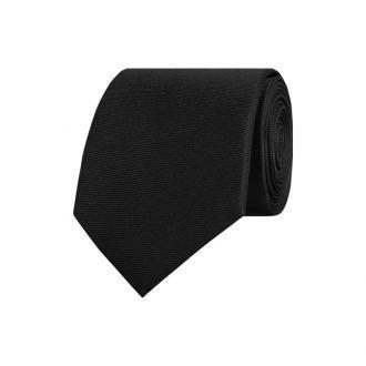 Krawat z czystego jedwabiu (6 cm)