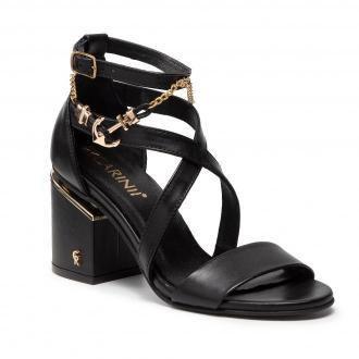 Sandały CARINII - B7128 E50-000-000-D89
