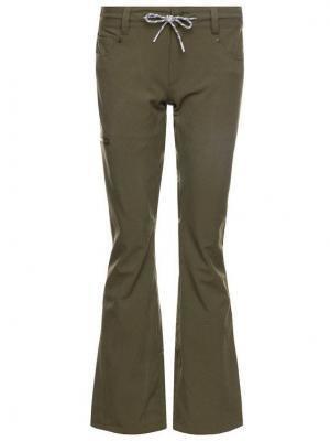 DC Spodnie snowboardowe EDJTP03022 Zielony Tailored Fit