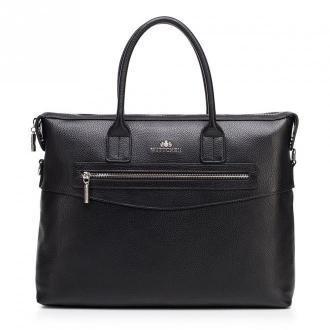 Damska torba na laptopa skórzana klasyczna