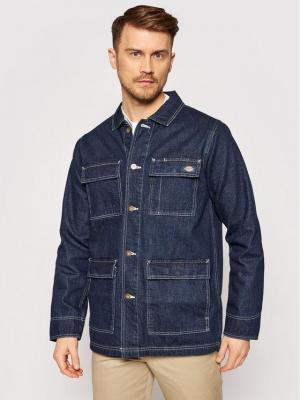 Dickies Kurtka jeansowa Morristown DK0A4XAKRNB1 Granatowy Regular Fit