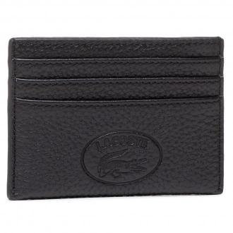 Etui na karty kredytowe LACOSTE - Cc Holder NF3404NL Noir 000
