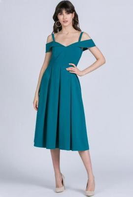 Elegancka sukienka midi