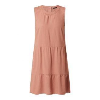 Sukienka z mieszanki lnu i wiskozy model 'Astimilo'
