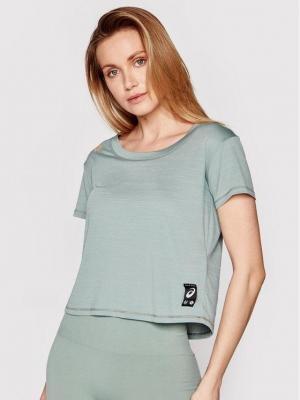 Asics Koszulka techniczna Sakura 2012B945 Zielony Regular Fit
