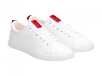 Białe tenisówki damskie BIG STAR DD274685