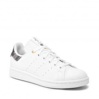 Buty adidas - Stan Smith W H04074  Ftwwht/Supcol/Cburgu