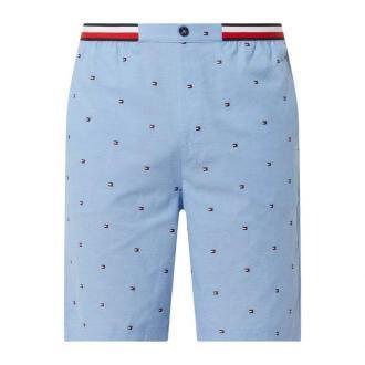 Szorty od piżamy ze wzorem z logo