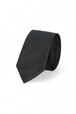 Krawat Czarny