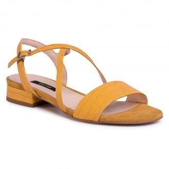 Sandały GINO ROSSI - A45160 Yellow