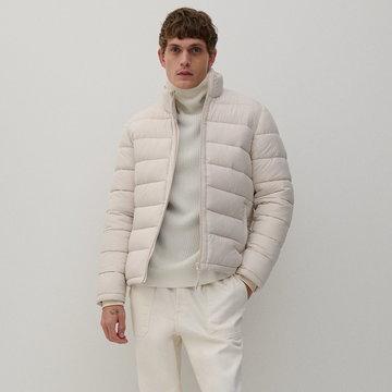 Reserved - Pikowana kurtka - Beżowy