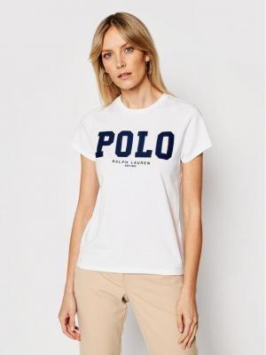 Polo Ralph Lauren T-Shirt 211827660001 Biały Slim Fit