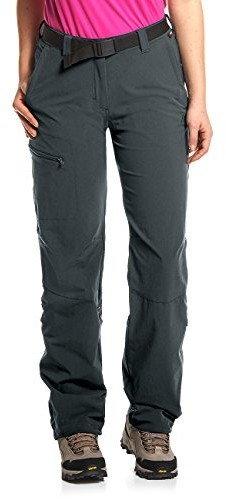Maier Sports Lulaka Spodnie z podwijanymi nogawkami Kobiety, szary DE 17 (Short) 2021 Legginsy i spodnie treningowe