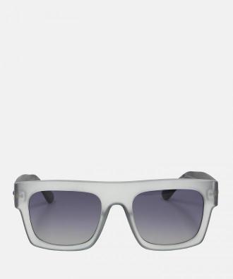Szare okulary przeciwsłoneczne