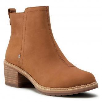 Botki TOMS - Marina 10015854  Tan Smooth Waxy Leather