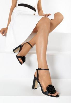 Czarne Sandały Be Unique