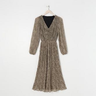 Sinsay - Sukienka maxi - Wielobarwny