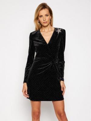 Liu Jo Sukienka koktajlowa WF0252 J6029 Czarny Slim Fit