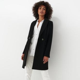 Mohito - Klasyczny płaszcz Eco Aware - Czarny
