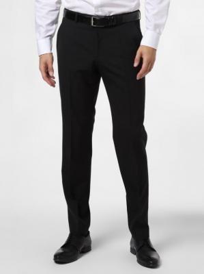 BOSS - Męskie spodnie od garnituru modułowego – C-Leon, czarny
