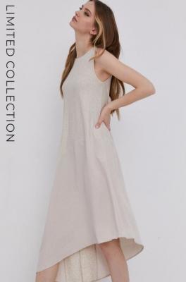 answear.LAB X Paulina Krupińska Sukienka z certyfikatem OEKO-TEX kolekcja limitowana Ethical Wardrobe