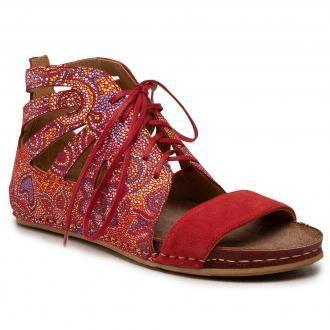 Sandały MACIEJKA - 04899-08/00-5 Czerwony