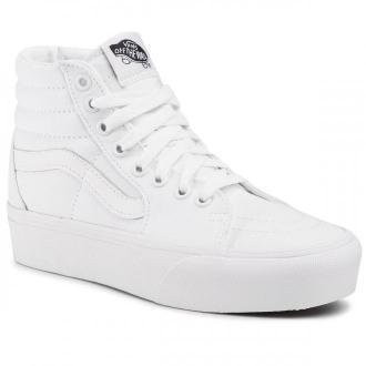 Sneakersy VANS - Sk8-Hi Platform 2 VN0A3TKNQLZ1 True White/True White