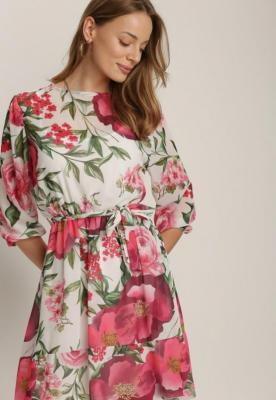Różowa Sukienka Orphallis