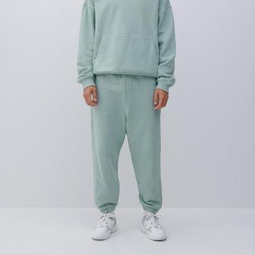 Reserved - Spodnie dresowe - Turkusowy