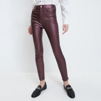 Mohito - Spodnie skinny - Fioletowy