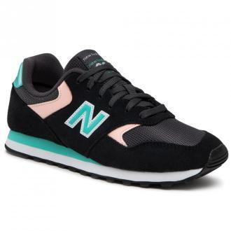Sneakersy NEW BALANCE - WL393VR1 Czarny