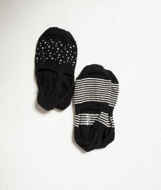 Invisible Fashion Skarpety - Komplet 2 Pary - Czarny - Etam