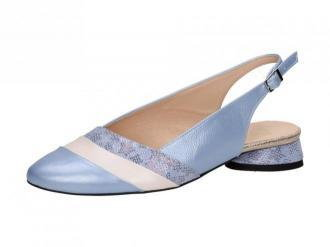 POLSKIE czółenka damskie SUZANA 4059 BLUE