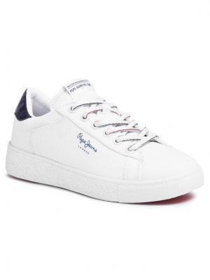 Pepe Jeans Sneakersy Roxy Summer20 PLS30955 Biały