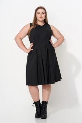 TATIANA BLACK elegancka sukienka plus size : size - 44