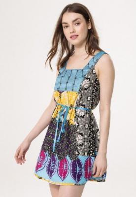 Niebieska Sukienka Mess About