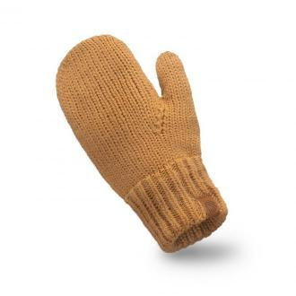 Rękawiczki damskie jednopalczaste - camel