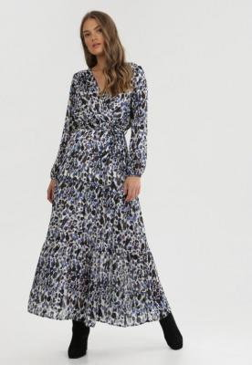Niebieska Sukienka Balnas