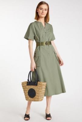 Bawełniana sukienka damska