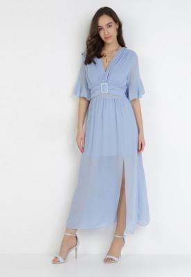 Niebieska Sukienka Viviathea