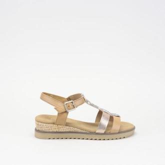Damskie sandały brązowe Gabor 42.755.54