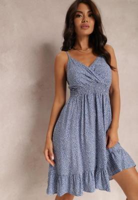 Niebieska Sukienka Abellu