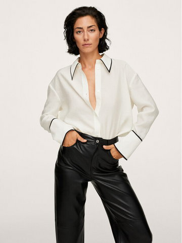 Koszula Bogart 17015955 Biały Regular Fit