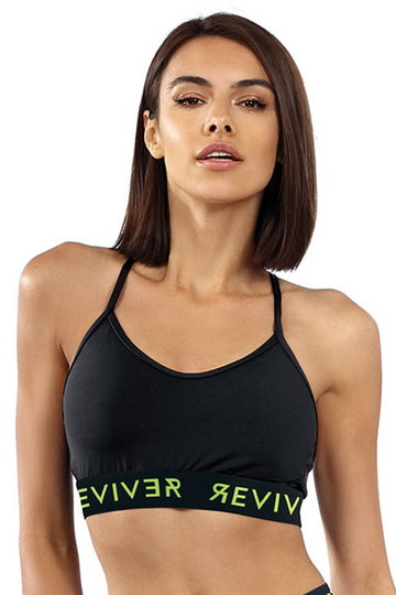Reviver F5523 Top fitness, czarny