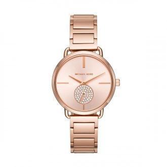 Zegarek MICHAEL KORS - Portia MK3640 Rose Gold/Rose Gold
