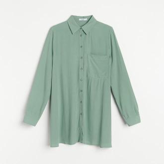 Reserved - Koszula z EcoVero™ - Khaki