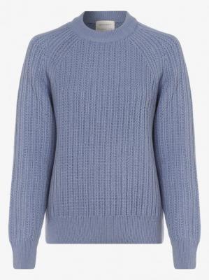 ARMEDANGELS - Sweter damski – Hinaa, niebieski