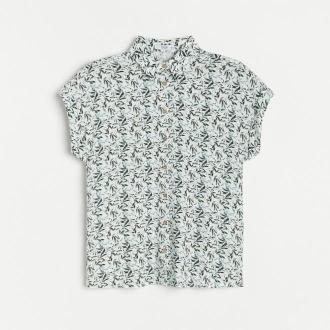 Reserved - Koszula z wiskozy - Wielobarwny