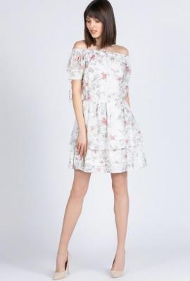 Romantyczna sukienka w kwiaty
