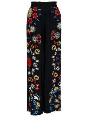 Desigual Spodnie materiałowe Chipre 21SWMW26 Czarny Loose Fit